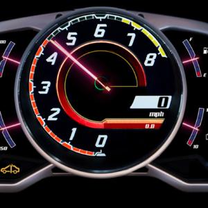 Neon Aventador
